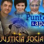 panel de justicia social y punto y aparte