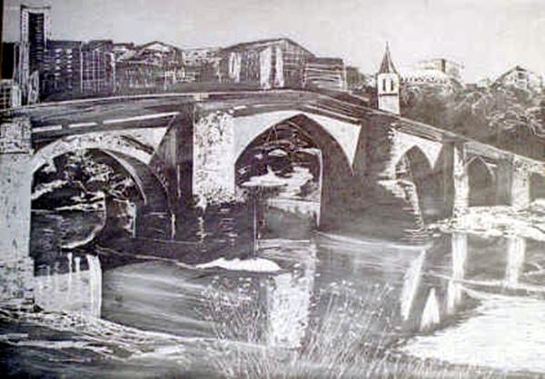 Orense. Puente romano  | Dr. Angel Escudero Juan