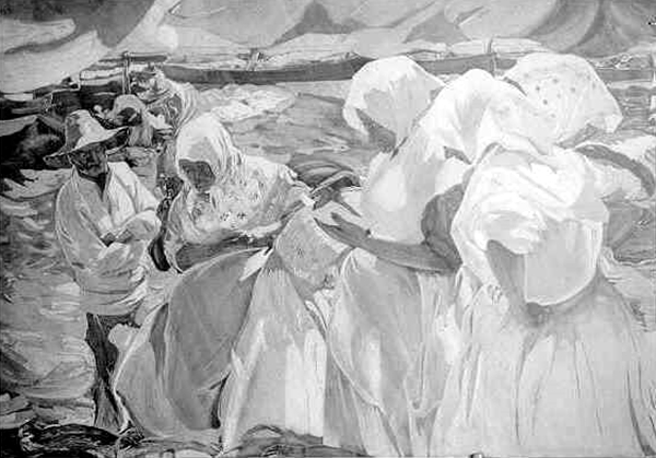 Pescadoras valencianas | Dr. Angel Escudero Juan