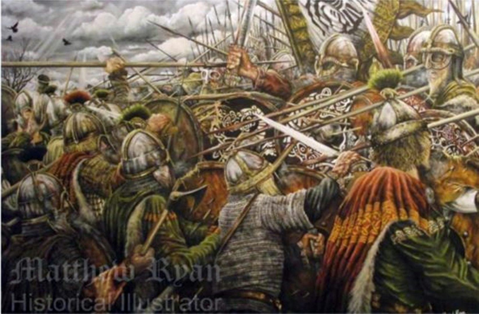 Battle of Ashdown 871 | Matthew Ryan