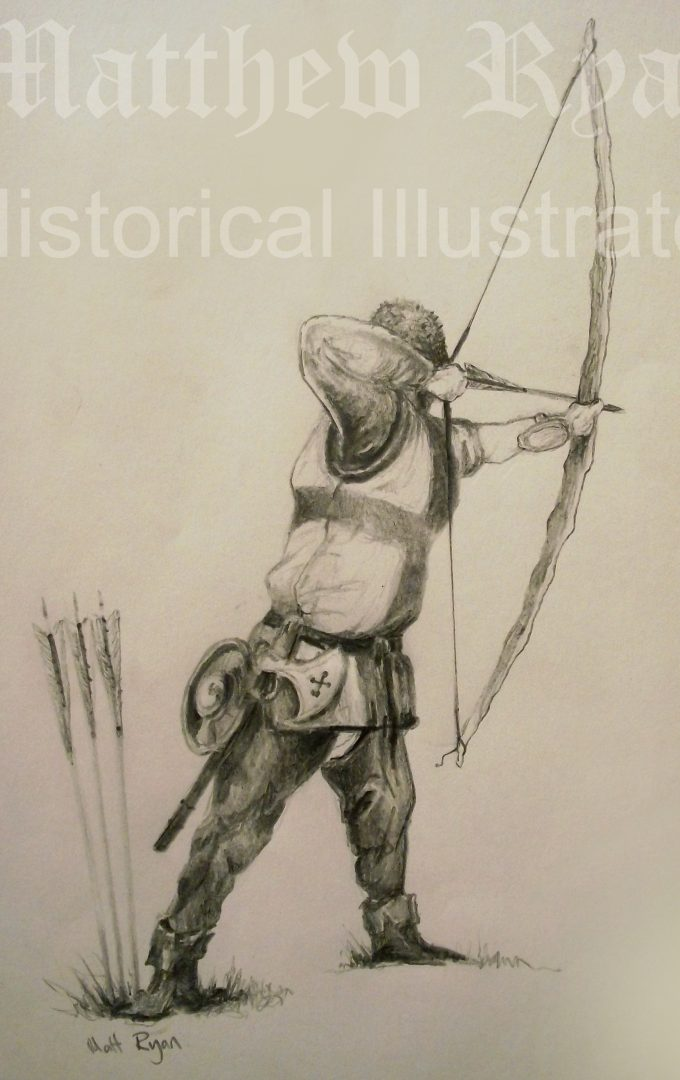 Set of Fire Archer drawing 1 | Matthew Ryan