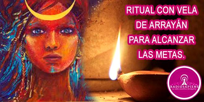 Ritual con vela de arrayán para alcanzar nuestras metas