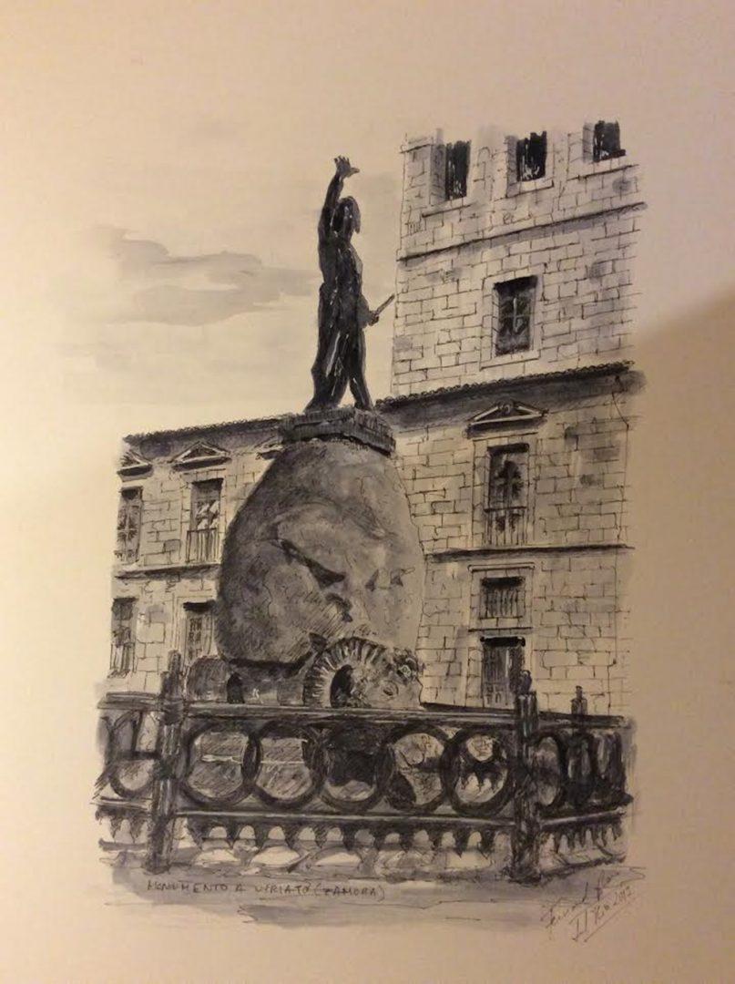 Monumento  a Viriato (Zamora)  | Fernando Pérez del Río