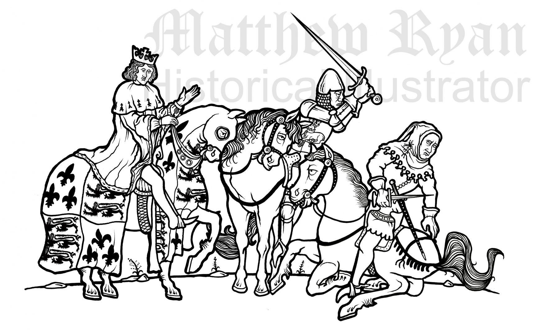 1381 Revolt, Death of Tyler | Matthew Ryan