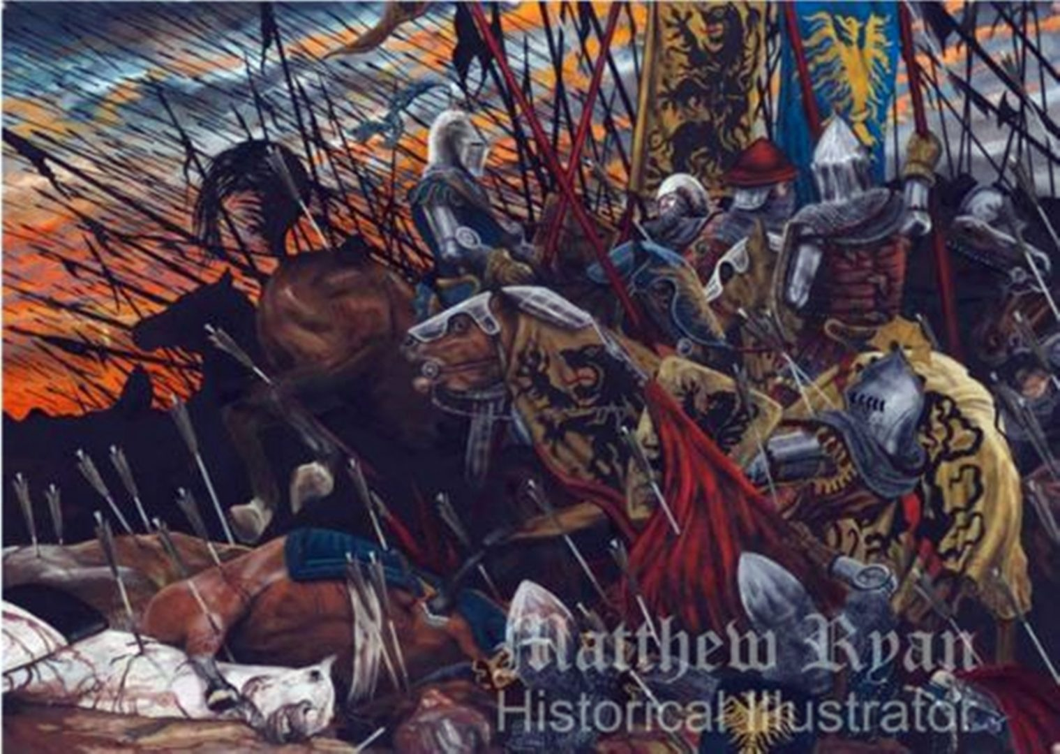 Battle of Crecy 1346 | Matthew Ryan