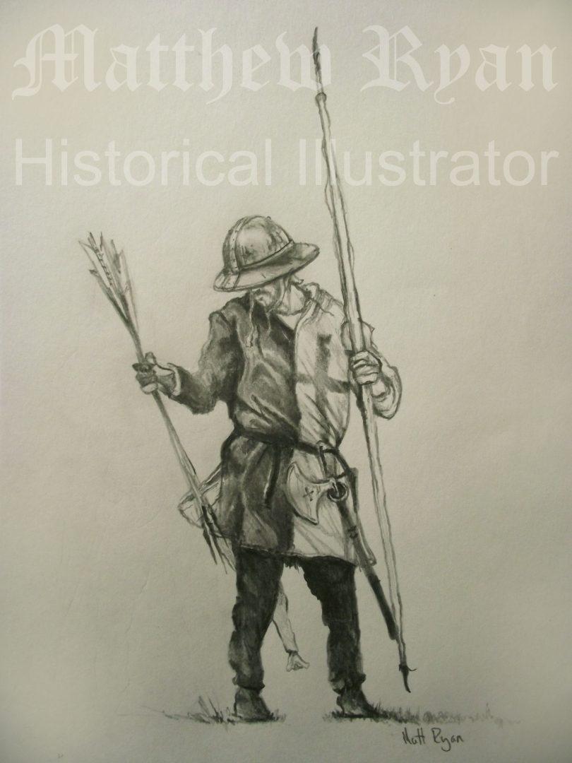 Set of Fire Archer drawing 3 | Matthew Ryan
