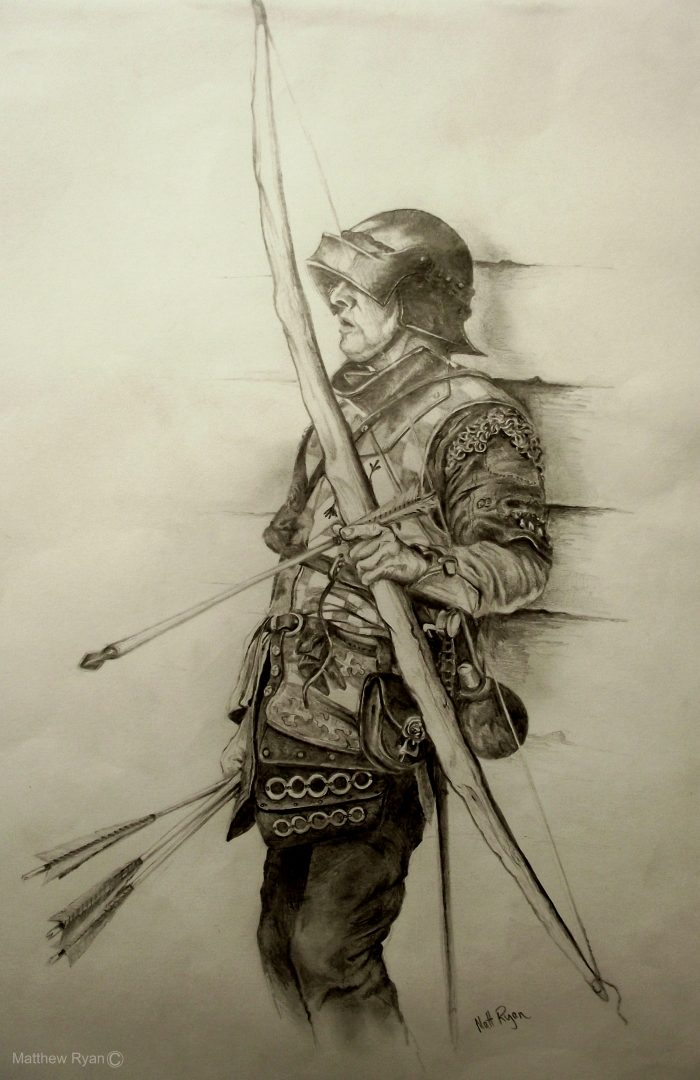 Set of Fire Archer drawing 6 | Matthew Ryan