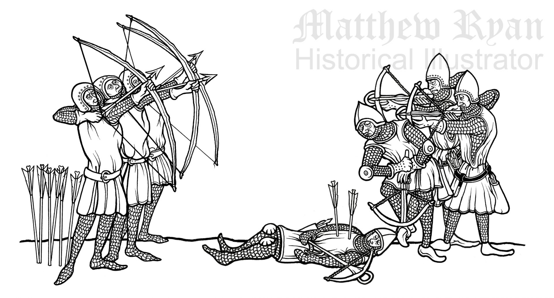 Archers & Crossbow men  | Matthew Ryan