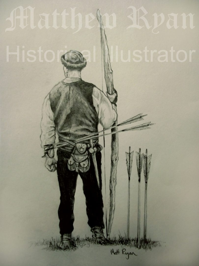 Set of Fire Archer drawing 5 | Matthew Ryan